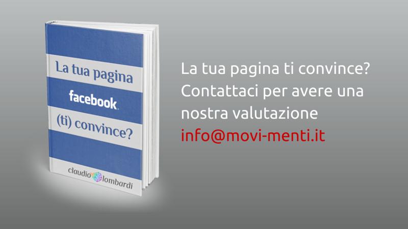 gestione pagina facebook di claudio lombardi