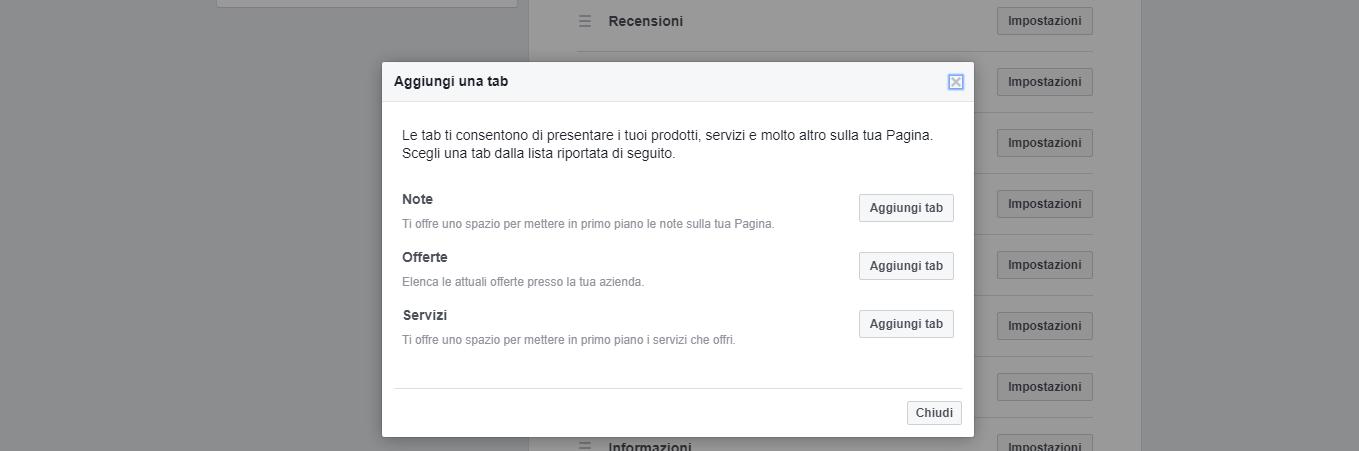 facebook ottimizza la tua pagina e inserisci le nuove tab di claudio lombardi