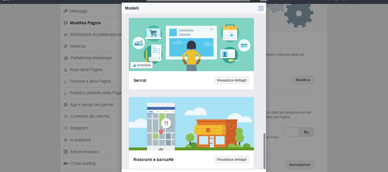 facebook ottimizza la tua pagina modifica aspetto della pagina di claudio lombardi