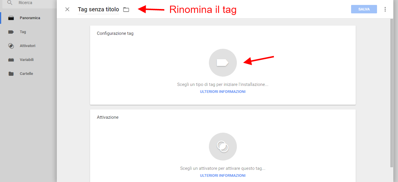google tag manager crea un nuovo tag di claudio lombardi esperto google