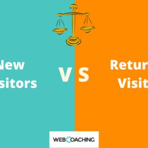 Google Analytics: nuovi visitatori e visitatori di ritorno