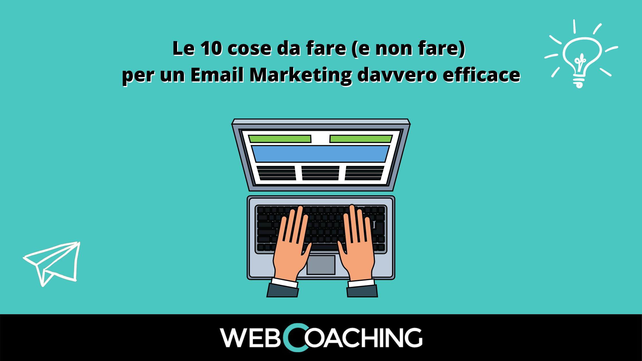 Email marketing 10 cose da fare