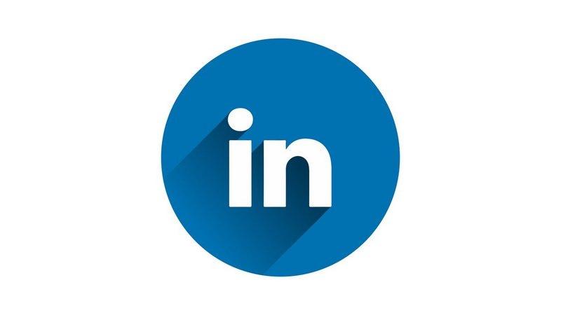 logo Linkedin tondo