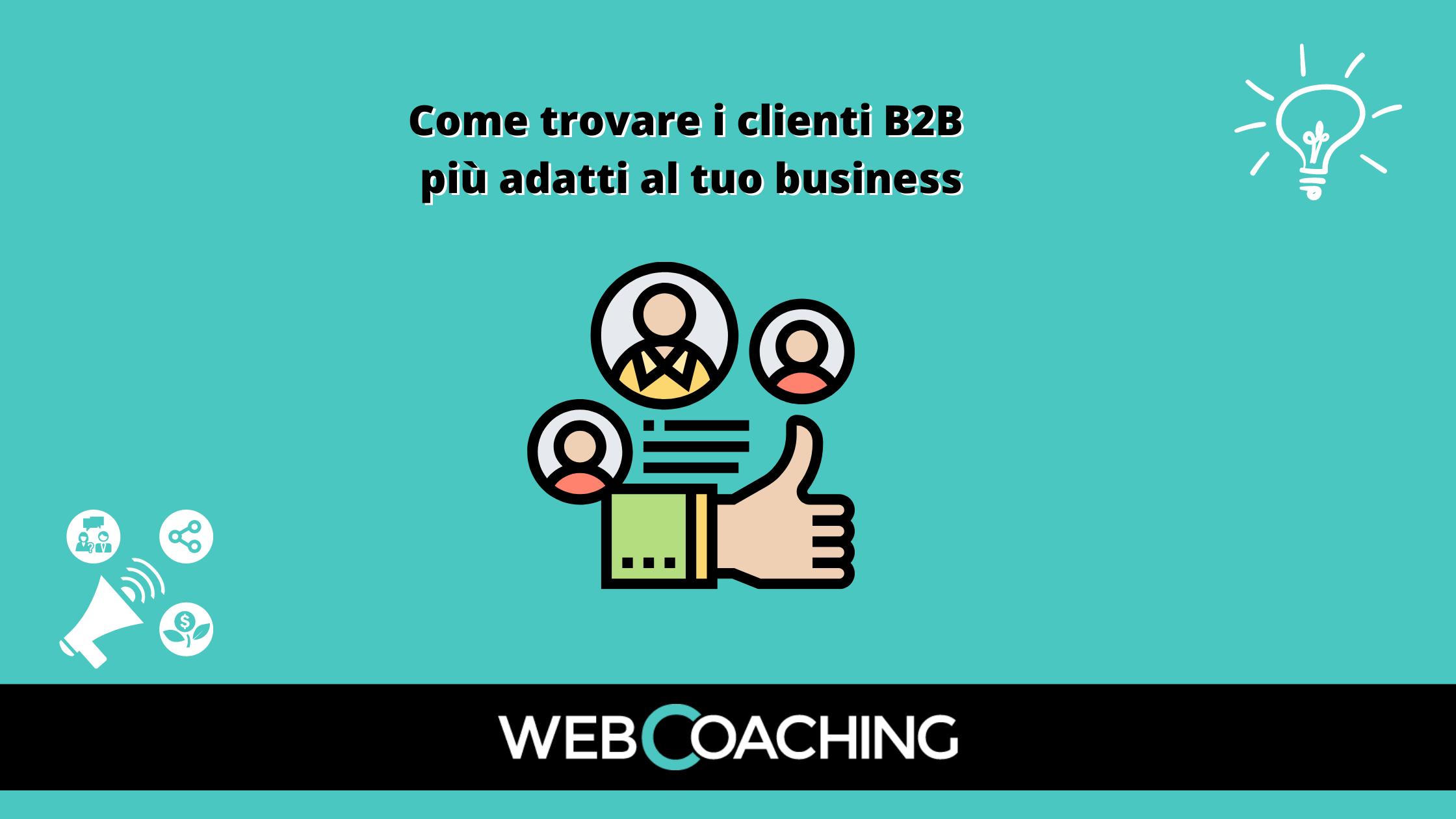 Come trovare clienti B2B