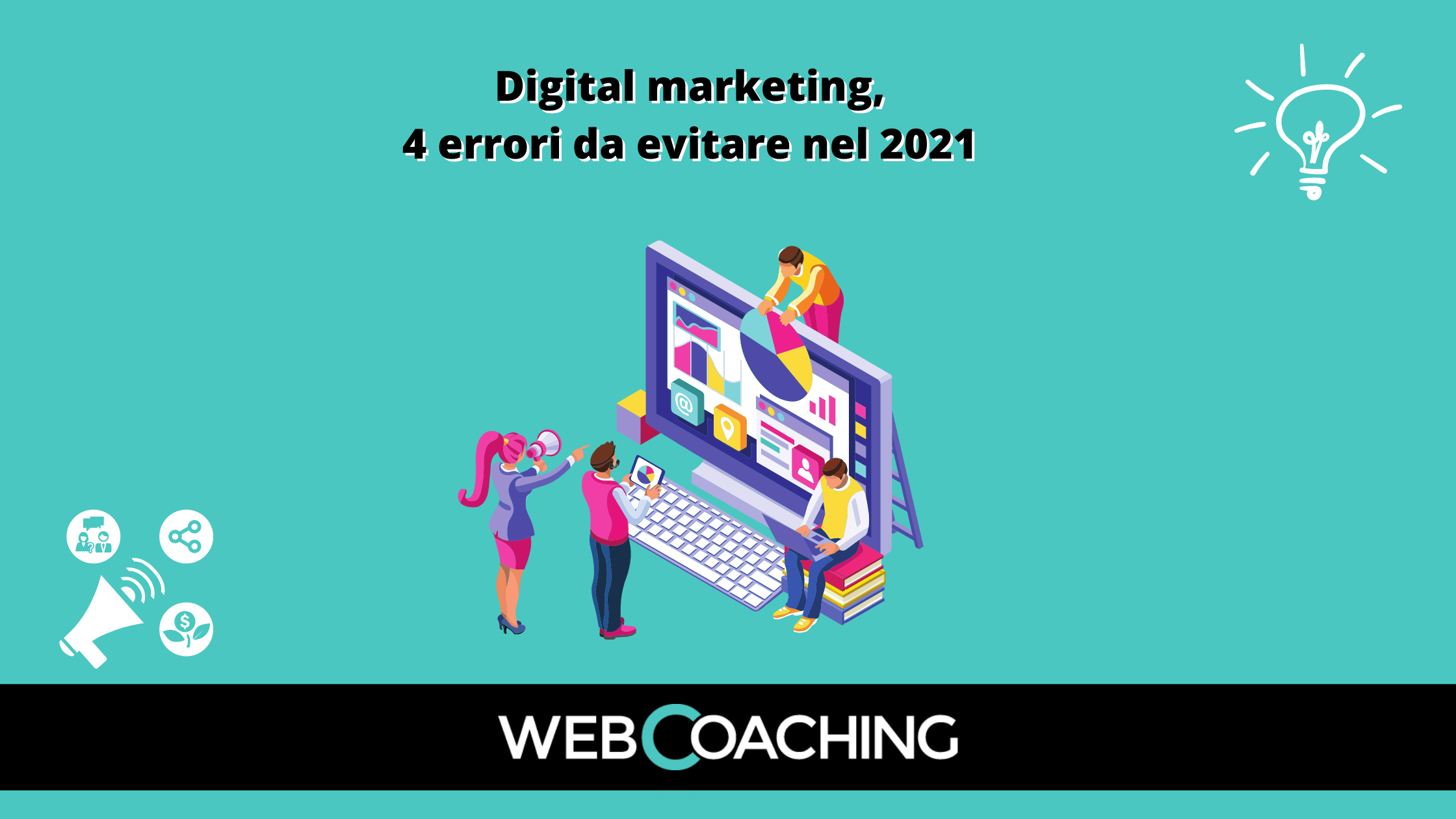 Digital marketing 4 errori