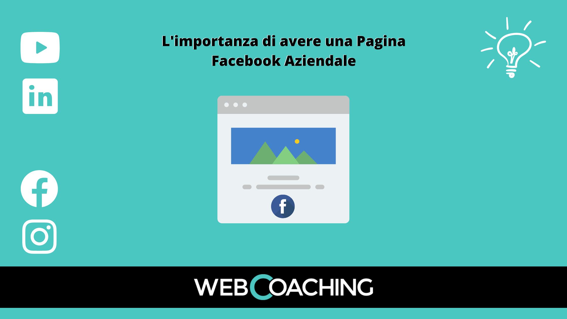 Facebook importanza pagina aziendale