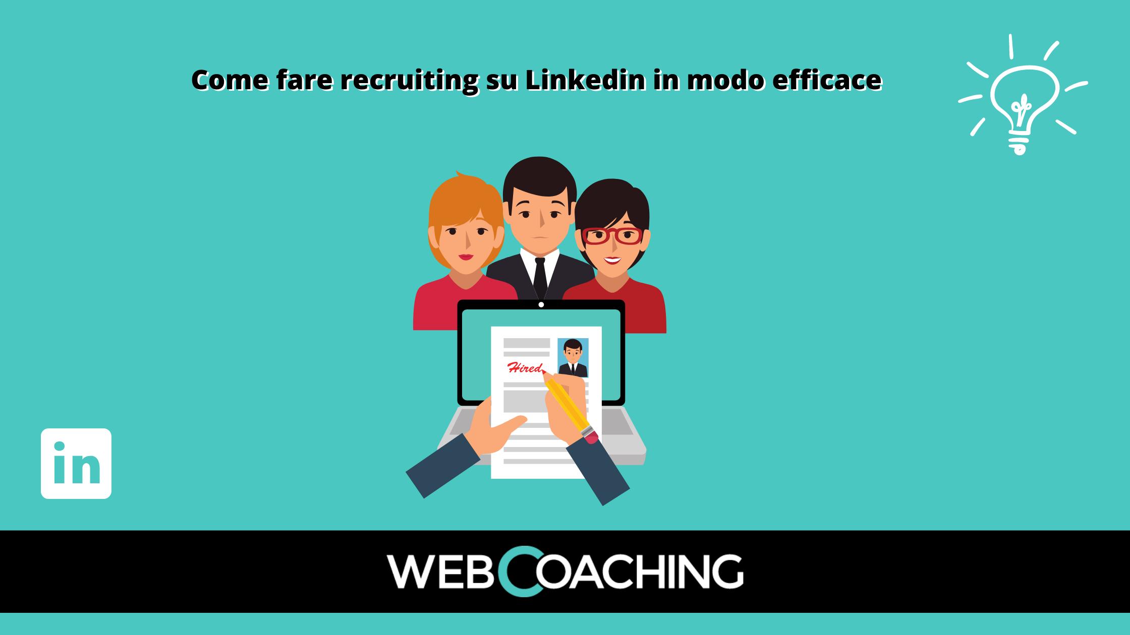 Recruiting su Linkedin