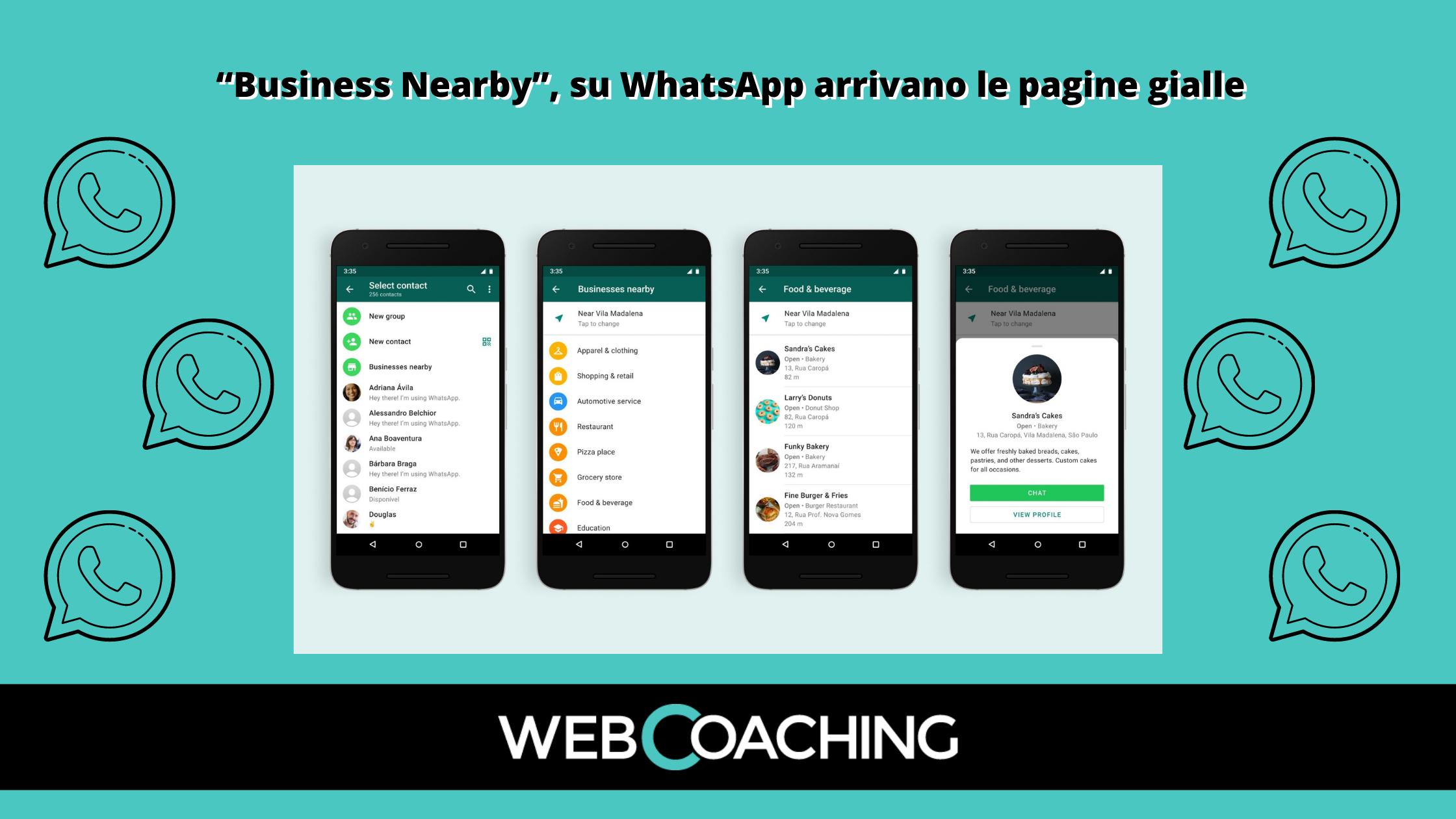 Whatsapp Business Nearby
